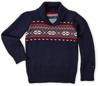 Tommy Hilfiger Toddler Boys) Fair Isle Sweater