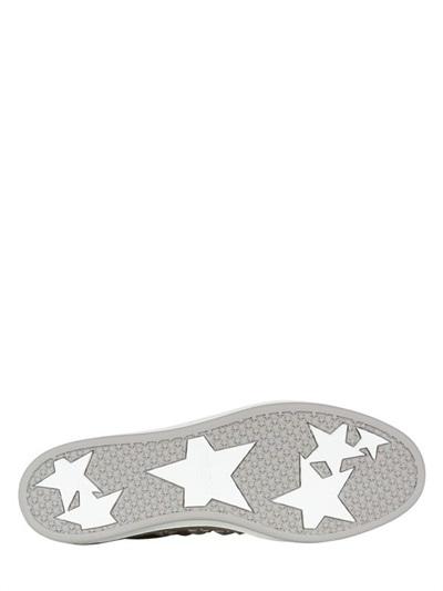 Jimmy Choo Miami Stars Lizard Print Low Sneakers