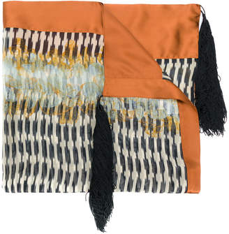 Forte Forte embroidered scarf