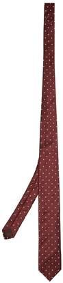Prada Star-embroidered silk tie
