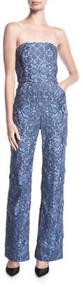 Mestiza New York Strapless Retro Lace Jumpsuit