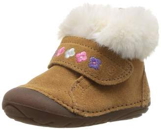 Stride Rite Sophie Baby Girl's Adjustable Suede Boot Ankle