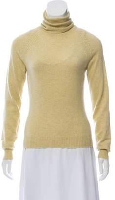Loro Piana Cashmere Turtleneck Sweater Tan Cashmere Turtleneck Sweater