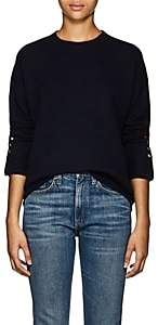 Lisa Perry Women's Cashmere Crewneck Sweater-Navy
