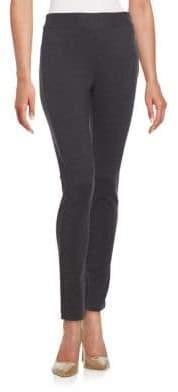 Saks Fifth Avenue BLACK Side Waist Zip Pant