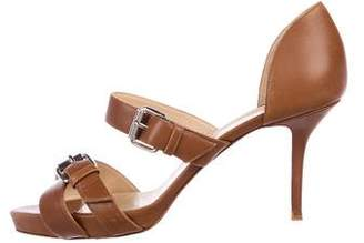 Christian Louboutin Leather Buckled Sandals