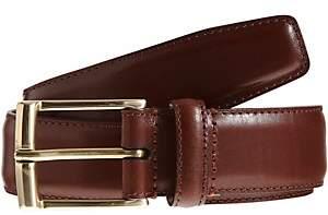 Crockett Jones Crockett & Jones Men's Smooth Leather Belt - Brown