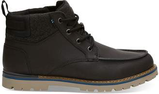 Toms Waterproof Forged Iron Leather Men's Hawthorne Boots