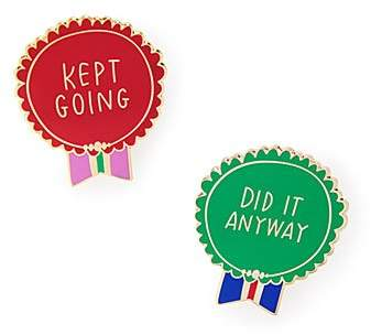 Kept Going & Did It Anyway Pins