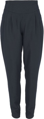 Muza Linen Wide Belt Tapered Trousers