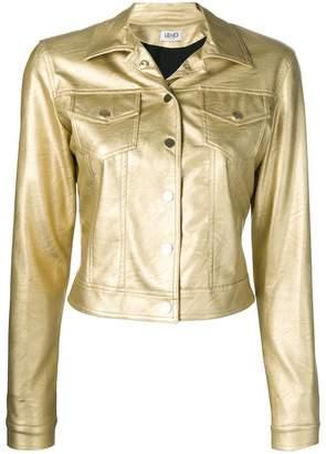 Liu Jo cropped fitted jacket