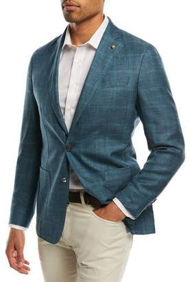 Peter Millar Binimi Windowpane Soft Jacket