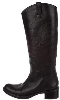 Roberto Del Carlo Leather Knee Boots