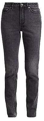 Ksubi Women's High-Rise Slim-Fit Pin Tapered Jeans