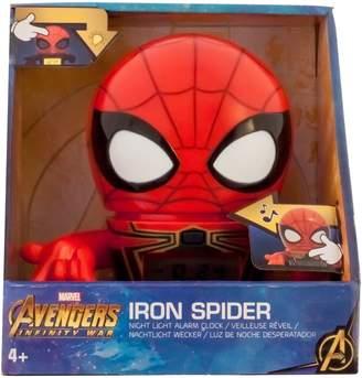Lego BulbBotz Marvel Avengers: Infinity War Iron Spider Night Light Alarm Clock