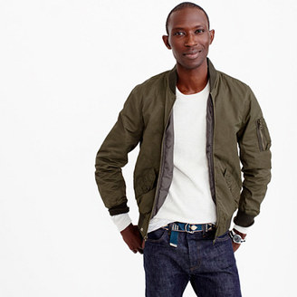 Wallace & Barnes MA-1 bomber jacket $178 thestylecure.com