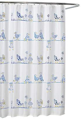Moda Ducks Life Shower Curtain