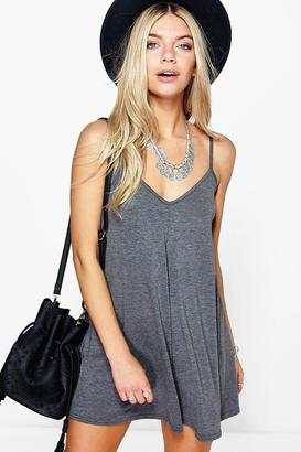 boohoo Daisie Strappy Swing Playsuit