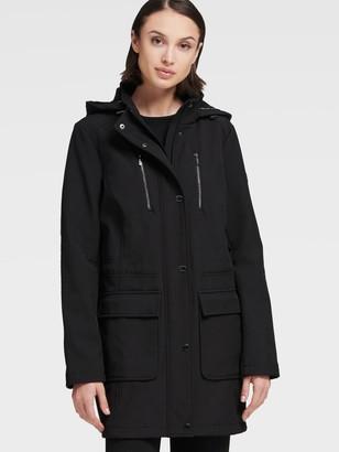DKNY Hooded Soft Shell Jacket