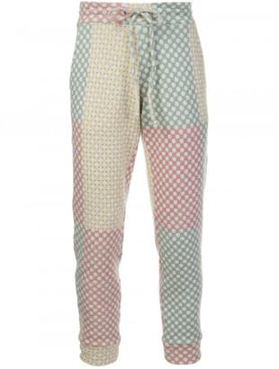 The Elder Statesman drawstring fastening trousers $1,575 thestylecure.com