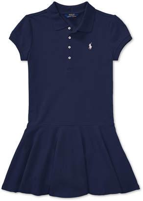Polo Ralph Lauren Ralph Lauren Toddler Girls Pleated Polo Dress