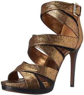 Nine West Women's Bonjorno Leather Heeled Sandal