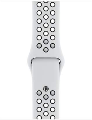 Apple 40mm Pure Platinum/Black NikeSportBand - S/M&M/L
