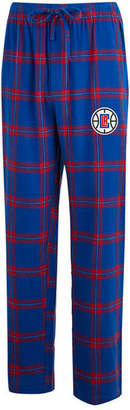 Concepts Sport Men's Los Angeles Clippers Homestretch Flannel Sleep Pants