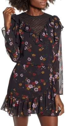 The Fifth Label Keystone Floral Ruffle Top