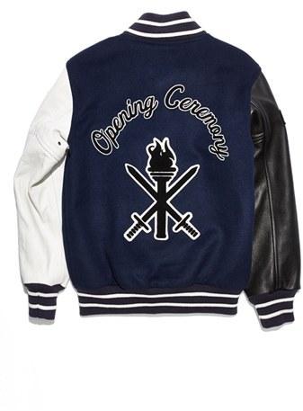 Opening Ceremony 'Fab OC' Varsity Jacket