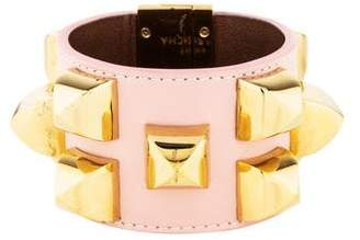 Givenchy Leather Studded Bracelet