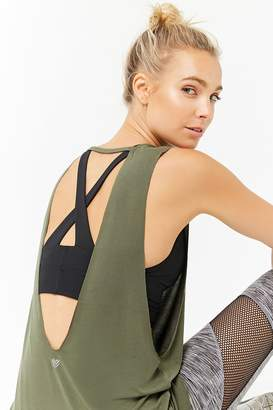 Forever 21 Active Cutout Muscle Tee