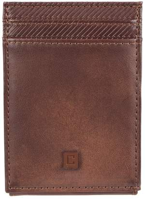 Chaps Men's RFID-Blocking Slim Front-Pocket Wallet with Magnetic Money Clip