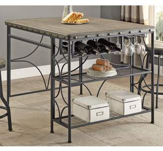 OS Home and Office Furniture OS Home and Office Model 1773T Counter Height Craft Dining Table
