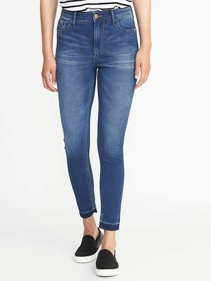Old Navy High-Rise Rockstar 24/7 Released-Hem Super Skinny Jeans for Women