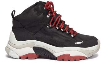 Ash 'Alfa' chunky outsole leather sneakers