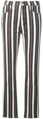 Frame Le Sylvie striped jeans