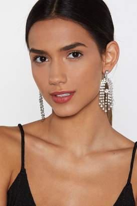 Nasty Gal Ear's the Deal Diamante Earrings