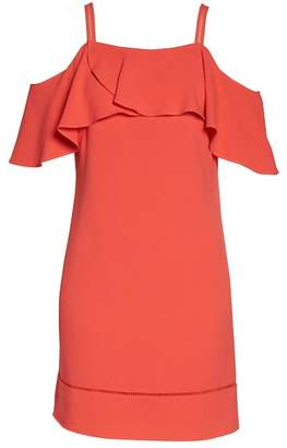 Maggy London Cold Shoulder Dress
