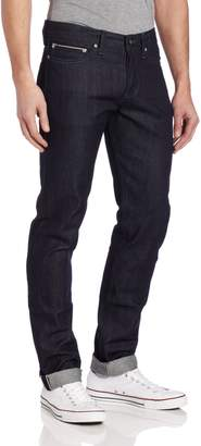 Naked & Famous Denim Men's Weird Guy Low Rise Tapered Leg Jean in ,x35
