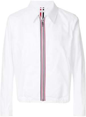 Thom Browne signature appliqué lightweight jacket