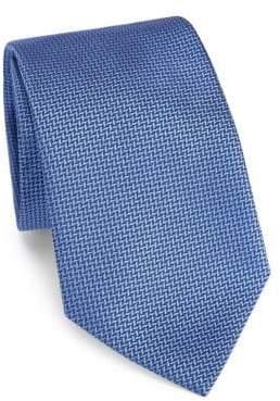 Giorgio Armani Embroidered Silk Tie