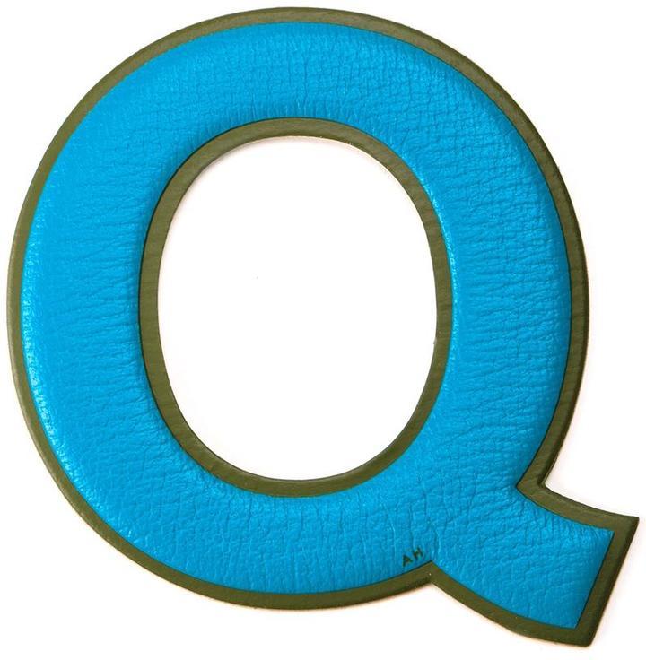 Anya HindmarchAnya Hindmarch 'Q' sticker