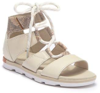 Sorel Torpeda Lace II Leather Sandal