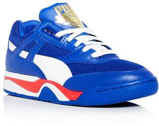 Puma Men's Palace Guard Finals Leather Low-Top Sneakers