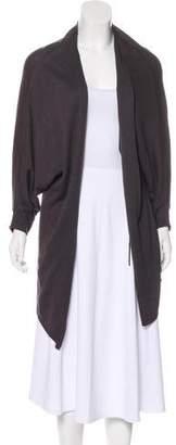 Tahari Knit Open-Front Cardigan