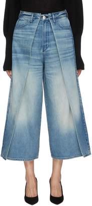 3x1 'Porter' convertible panel wide leg jeans