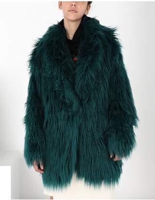 Maison Margiela Reversible Faux Fur Gilet