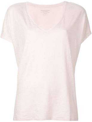 Majestic Filatures plunge neck T-shirt
