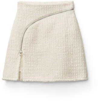 Alexander Wang Alexanderwang tweed zipper skirt